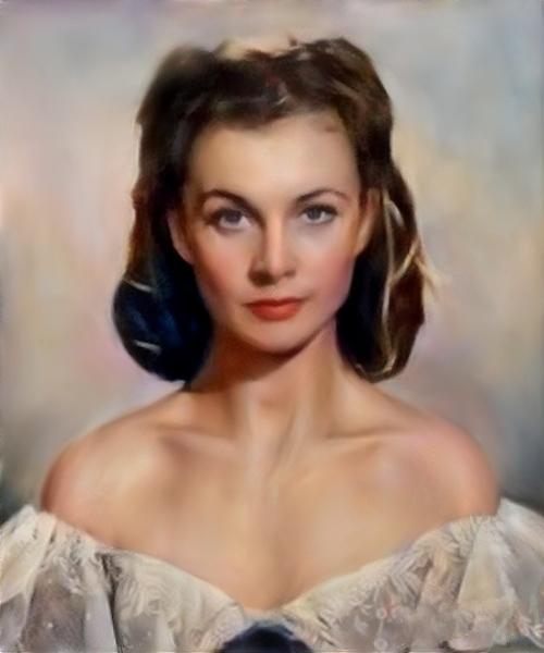 Vivien Leigh by baudet